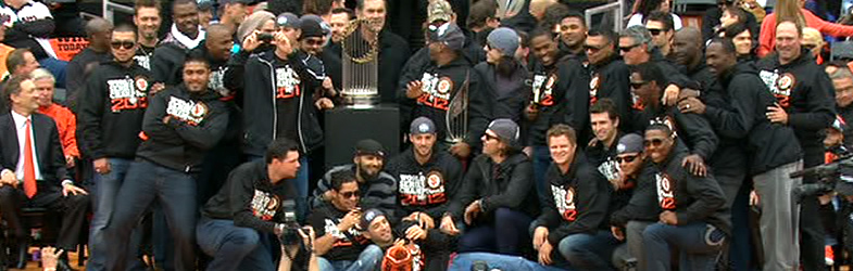 San Francisco Giants Victory Parade Resources 2012