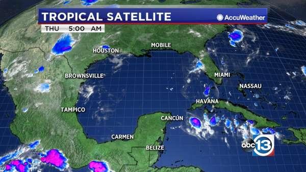 Gulf Satellite Image Abccom - Satellite mexico map