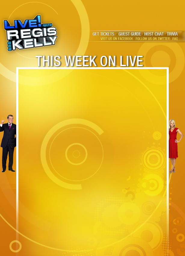 LIVE WITH REGIS AND KELLY on 7online | 7online.com