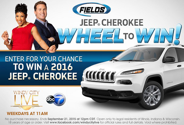 Windy City LIVE Jeep Sweepstakes