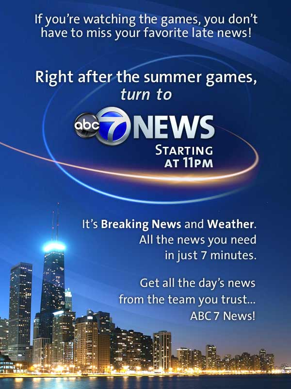 ABC7 News at 11 PM after the games