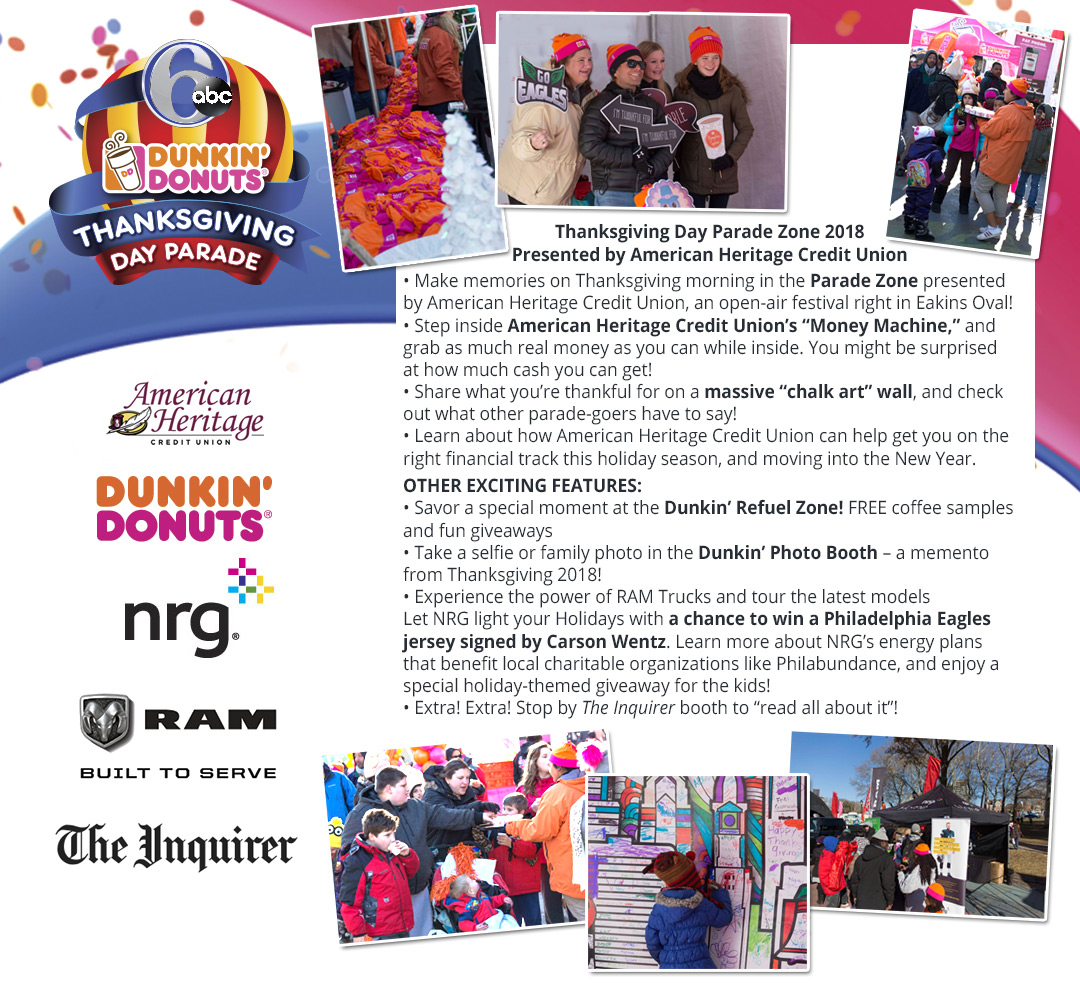 2017 6abc Dunkin\' Donuts Thanksgiving Day Parade
