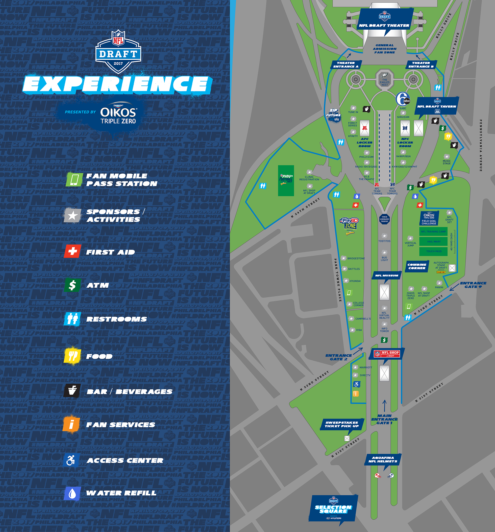 Road Closure Parking And Mass Transit Info For 2017 NFL