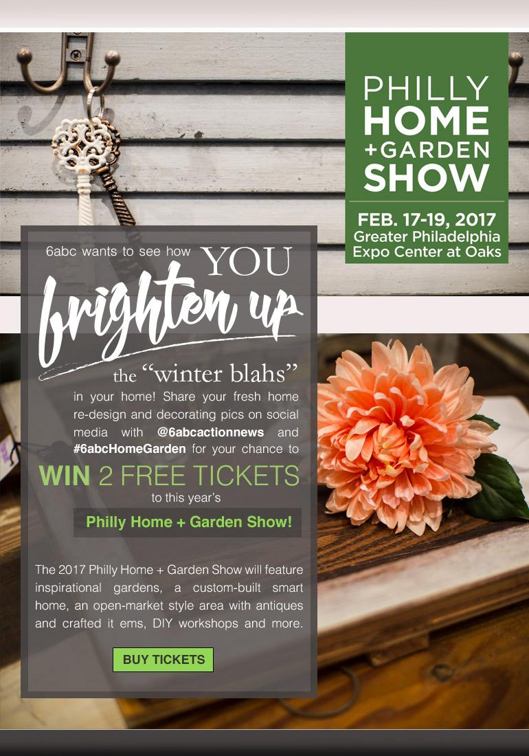 Philadelphia Home Garden Show Social Media Sweepstakes
