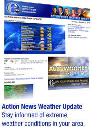 Action News Weather Update