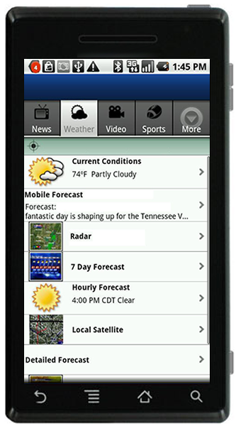 The ABC11 Raleigh - Durham - Fayetteville App for Android