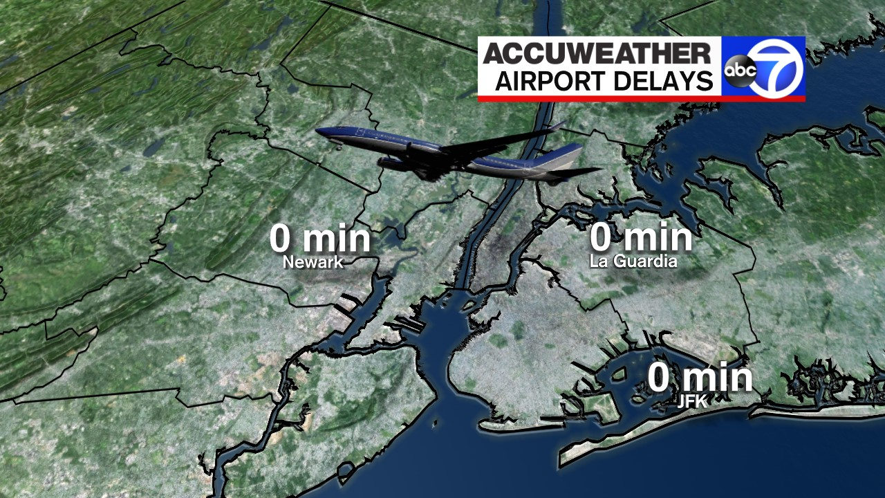 Current Airport Delays - LGA, JFK, EWR - AccuWeather ... on map of forest fires, map of snow, map of international, map of maps, map of weather, map of time, map of climate, map of history, map of spa, map of library of congress, map of routes, map of gas prices, map of flights, map of zip codes, map of storms, map of traffic, map of religions, map of travel, map of ewr, map of home,