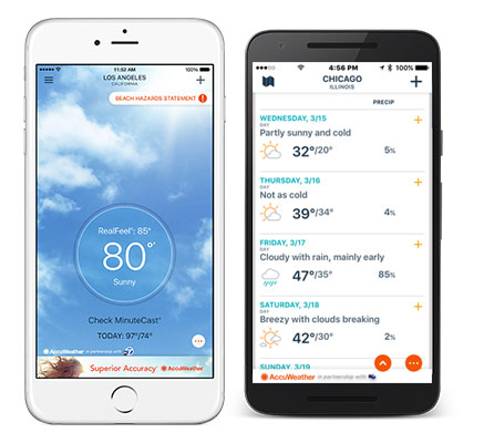 Get the ABC7 Chicago AccuWeather app for minute-by-minute