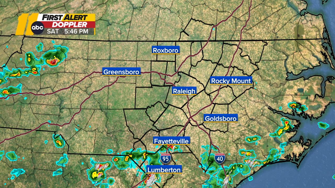 Raleigh Weather Radar Map Mega Doppler Abc11 Com