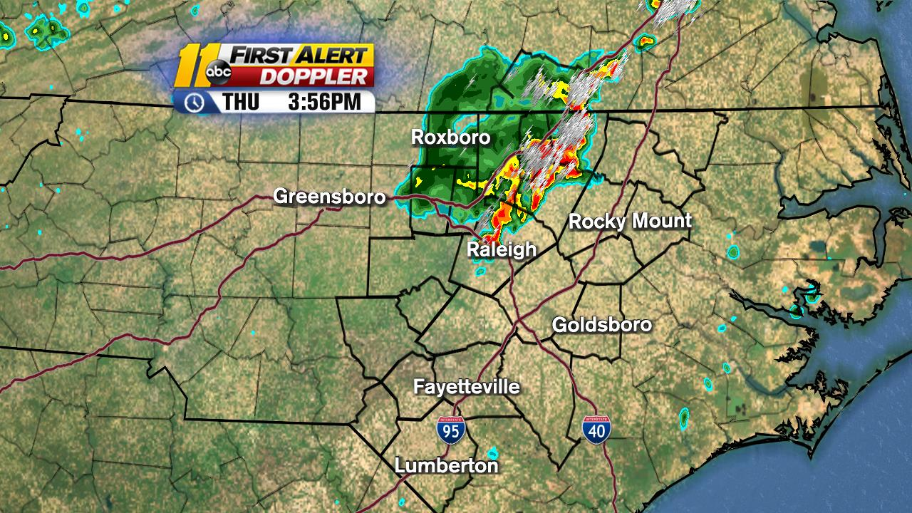 Central NC First Alert Doppler Radar